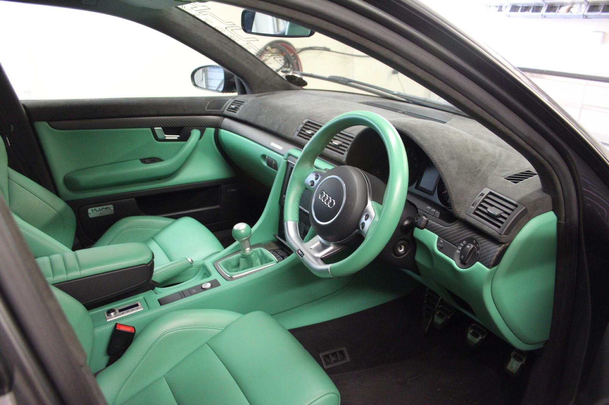 Audi A4 Alcantara Dash Part 1 Auto