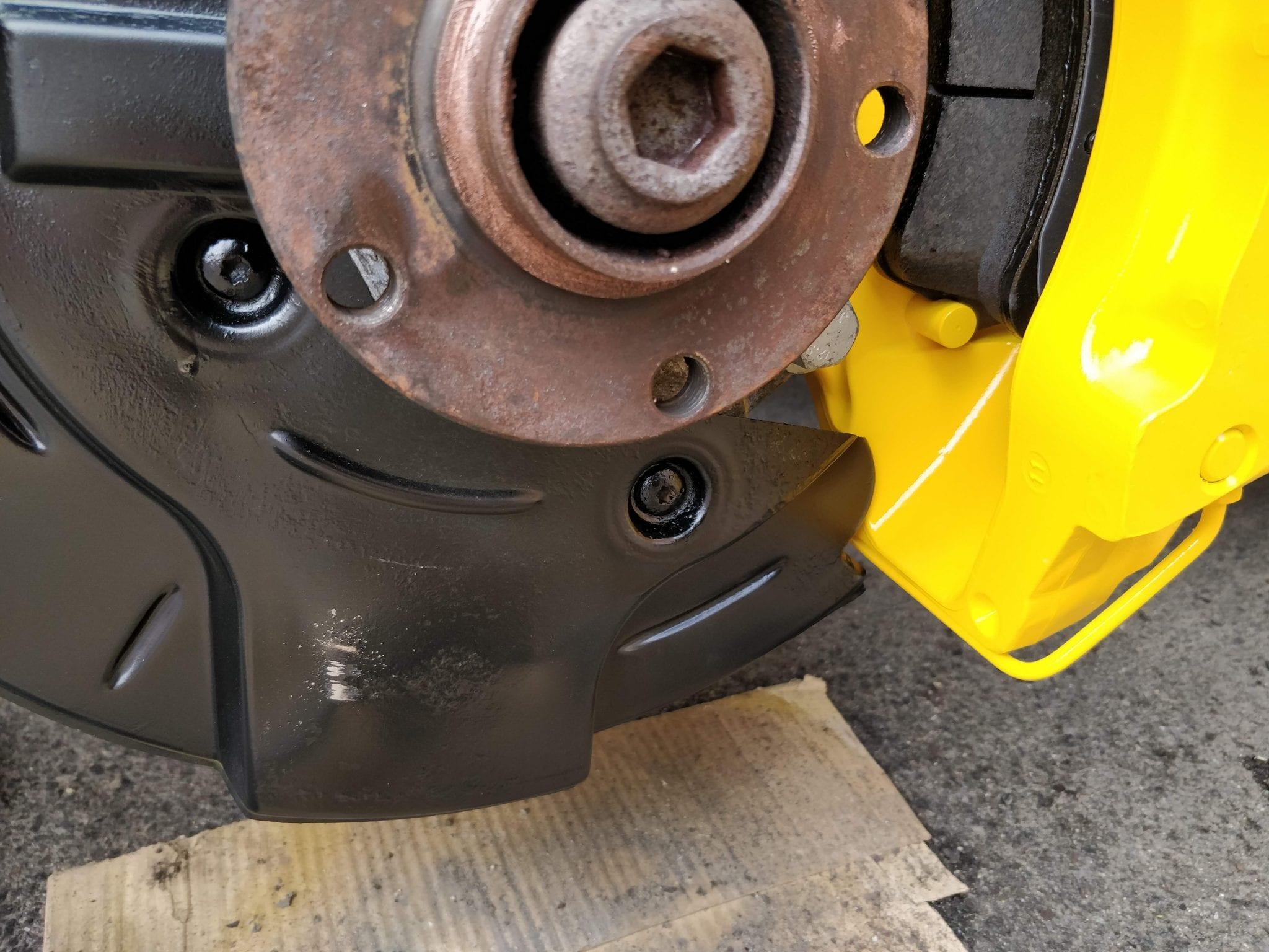 Brembo 18z Brakes on B6/B7 Audi A4/S4/RS4 |